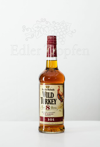 Wild Turkey 101 8 Jahre Kentucky Straight Bourbon Whiskey 0,7 l