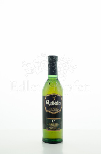Glenfiddich 12y Single Malt Whisky 0,2l