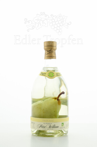 Pascall Poire William Eau de Vie mit Birne 0,7 l