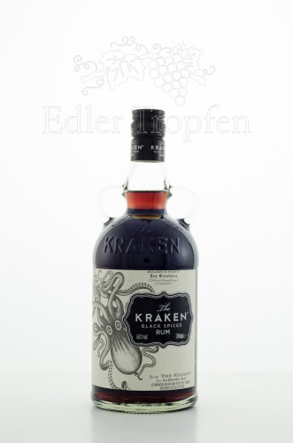 The Kraken black spiced Rum 0,7 l